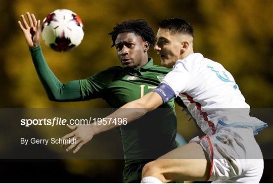 Luxembourg v Republic of Ireland - UEFA European U21 Championship Qualifier