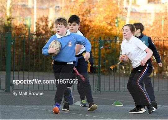 Leinster Rugby School Kids Training Session