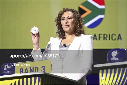 Rugby World Cup 2021 Draw