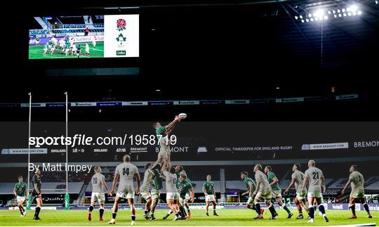 England v Ireland - Autumn Nations Cup