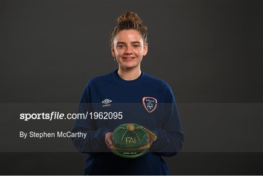 Republic of Ireland Women Caps Presentation