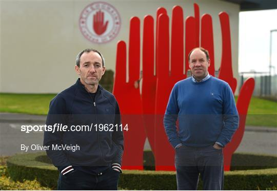 Tyrone introduce new joint-managers Feargal Logan and Brian Dooher