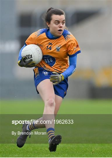 Clare v Meath - TG4 All-Ireland Intermediate Ladies Football Championship Semi-Final