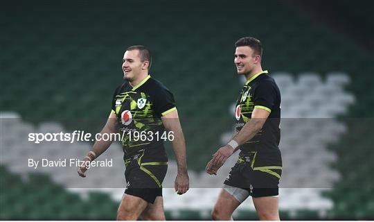 Ireland v Georgia - Autumn Nations Cup
