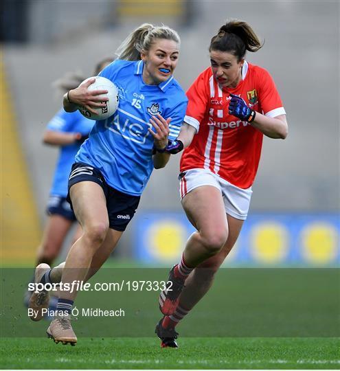 Cork v Dublin - TG4 All-Ireland Senior Ladies Football Championship Final