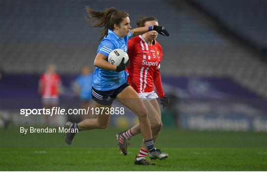 Cork v Dublin - TG4 All-Ireland Senior Ladies Football Championship Final