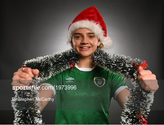 Happy Christmas from Republic of Ireland Women's Team