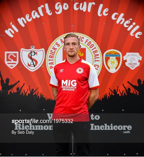 New St Patrick's Athletic Signing John Mountney