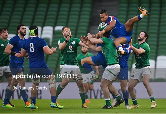 Ireland v France - Guinness Six Nations Rugby Championship