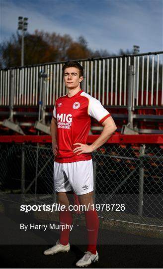 St Patrick's Athletic Portrait Session