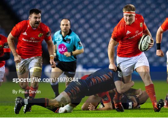 Edinburgh v Munster - Guinness PRO14