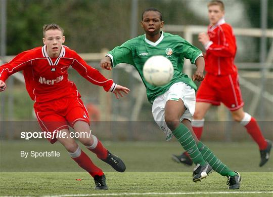 Rep of Ireland U-15 v Wales U-15