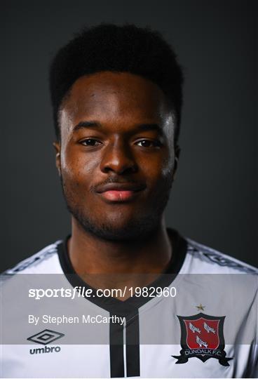 Dundalk FC Squad Portraits 2021