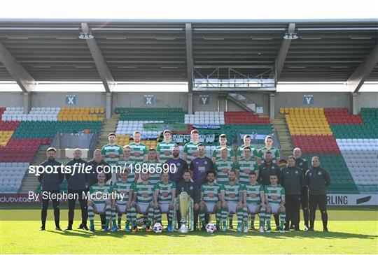 Shamrock Rovers Squad Portraits 2021