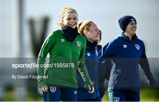 Republic of Ireland WNT Training