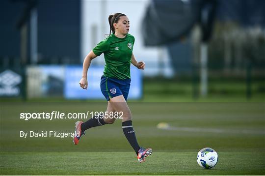 Republic of Ireland WNT Training