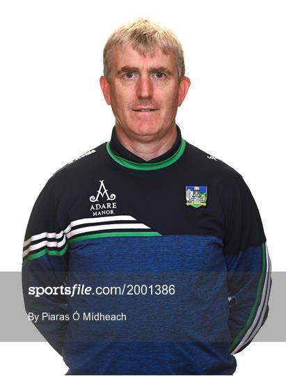 Limerick Hurling Squad Portraits 2021