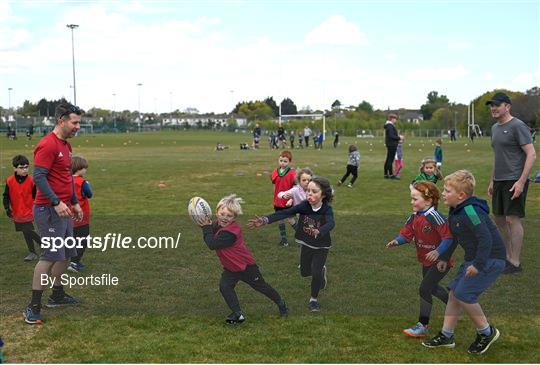Seapoint Minis Rugby Training