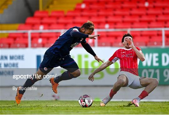 Sligo Rovers v St Patrick's Athletic - SSE Airtricity League Premier Division
