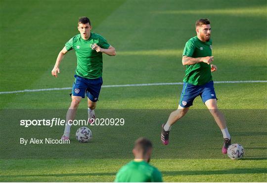 Republic of Ireland Training Session
