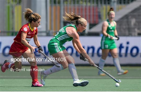 Ireland v Spain - Women's EuroHockey Championships - Pool A