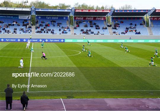 Iceland v Republic of Ireland - Women's International Friendly