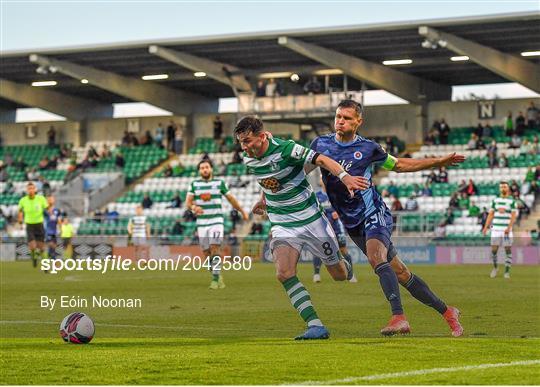 Shamrock Rovers v Slovan Bratislava - UEFA Champions League First Qualifying Round Second Leg