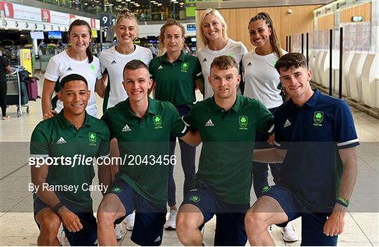 Team Ireland Athletics Team Depart for Olympic Games