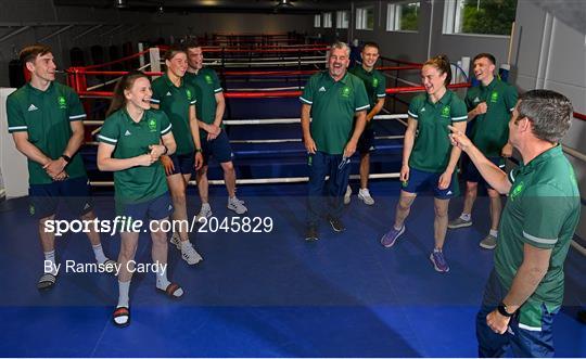 Tokyo 2020 Official Team Ireland Announcement - Boxing