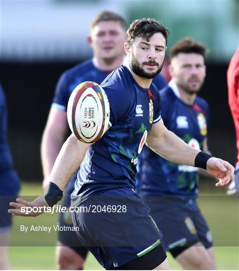 British & Irish Lions Squad Training