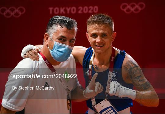 Tokyo 2020 Olympic Games - Day 1 - Boxing