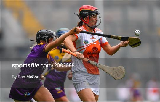 Armagh v Wexford - All-Ireland Premier Junior Camogie Championship Final