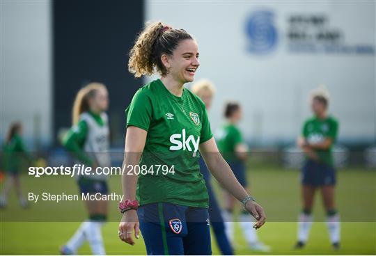 Republic of Ireland Women Training Session