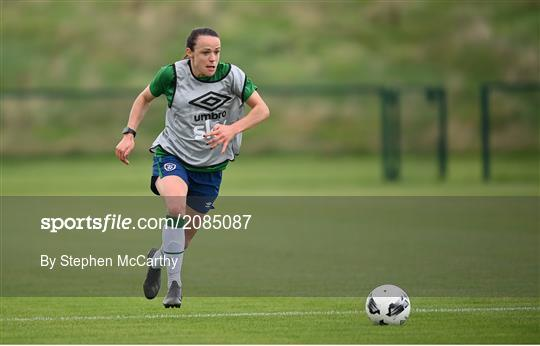 Republic of Ireland Women Press Conference & Training Session