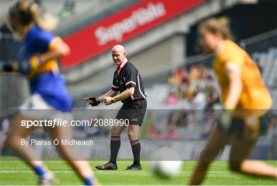 Antrim v Wicklow - TG4 All-Ireland Ladies Junior Football Championship Final