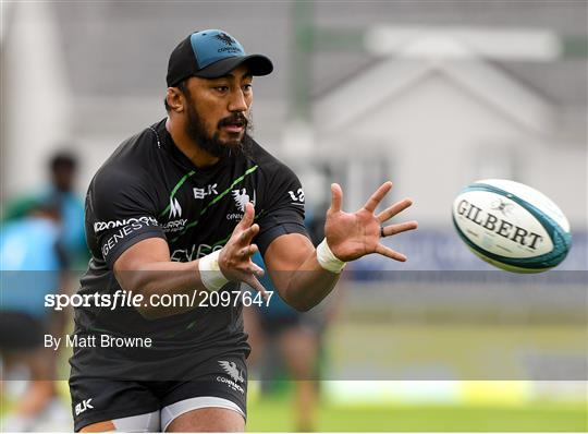 Connacht Rugby Squad Training