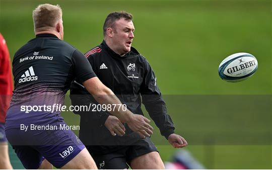 Munster Rugby squad training