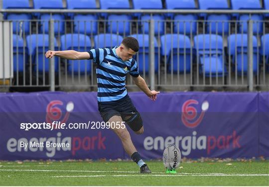 St Vincent's Castleknock College v Newbridge College - Bank of Ireland Leinster Schools Junior Cup Semi-Final