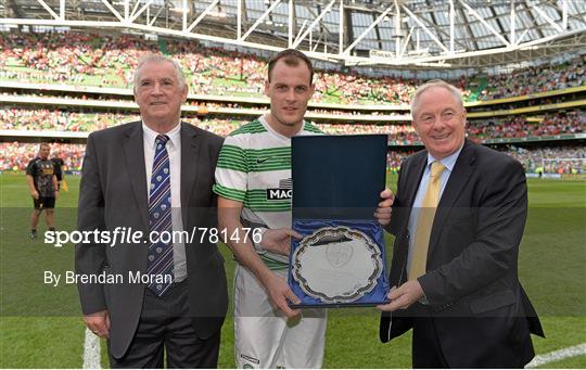 Dublin Decider - Post-Match Winning Captain Presentation