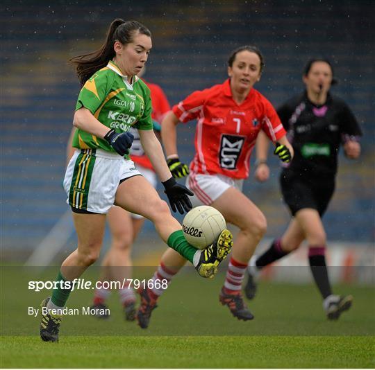 Cork v Kerry - TG4 All-Ireland Ladies Football Intermediate Championship Semi-Final