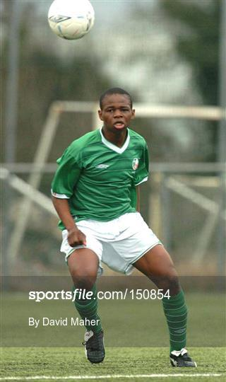 Rep of Ireland U-15 v Wales U-15