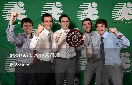 Triathlon Ireland Awards Dinner 2013, sponsored by Vodafone