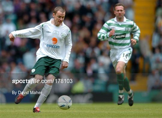 Celtic XI v Republic of Ireland XI