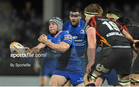 Leinster v Newport Gwent Dragons - Celtic League 2013/14 Round 14