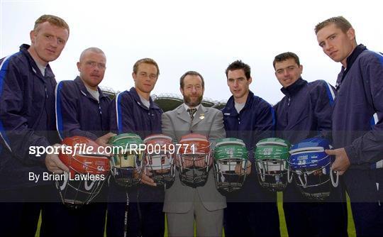 Azzurri promote Hurling Helmet