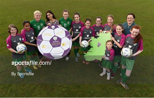 FAI Aviva Soccer Sisters Easter Camp Launch - Skerries Town FC