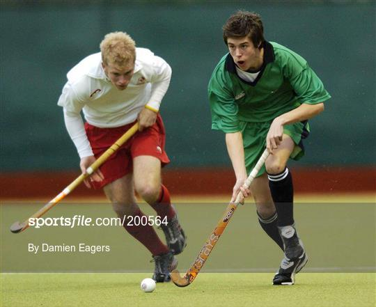 Sportsfile - Ireland v England - U18 Hockey International