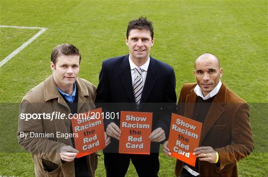 Launch of 'Show Racism the Red Card in Ireland' campaign