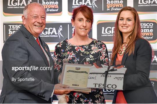 2014 TESCO HomeGrown Ladies National Football Team of the League Presentations