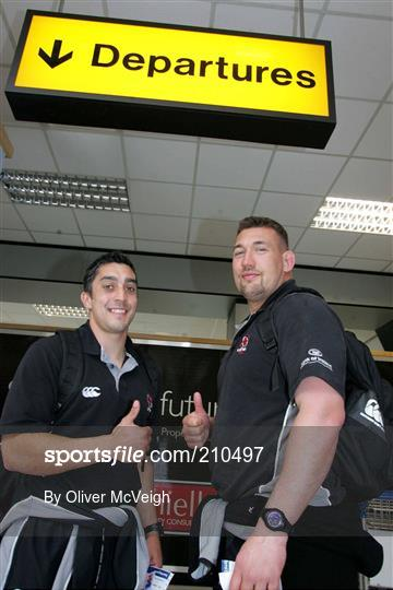 Ulster team delayed